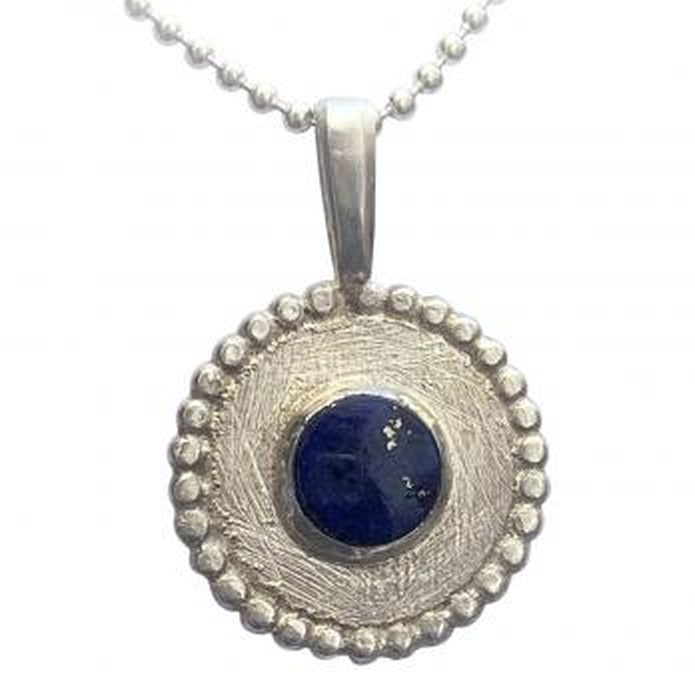 Lapis Lazuli Anhänger 925er Silber